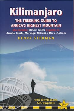 Kilimanjaro guidebook latest edition