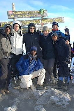 Machame Route Summit
