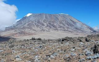 Kilimanjaro's Kibo summit from Mawenzi on a beautiful summer's day
