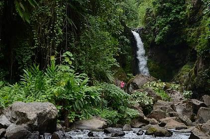 Kilasiya Falls, Marangu - at the foot of Kilimanjaro