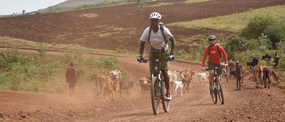 Cycling around Kilimanjaro (north side)