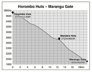 Horombo Huts to Marangu Gate